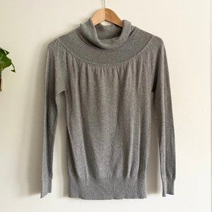Forever 21 Gray Cowl Neck Sweater